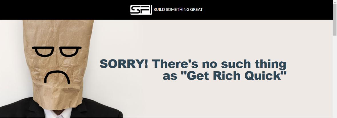 no get rich